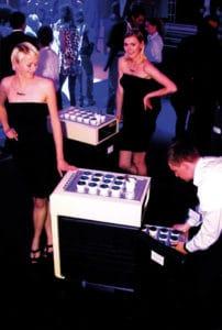 Thermoport for nightclub
