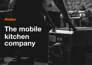 Catering System: the mobile kitchen company