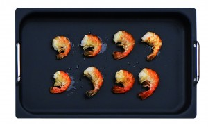thermoplate and prawn
