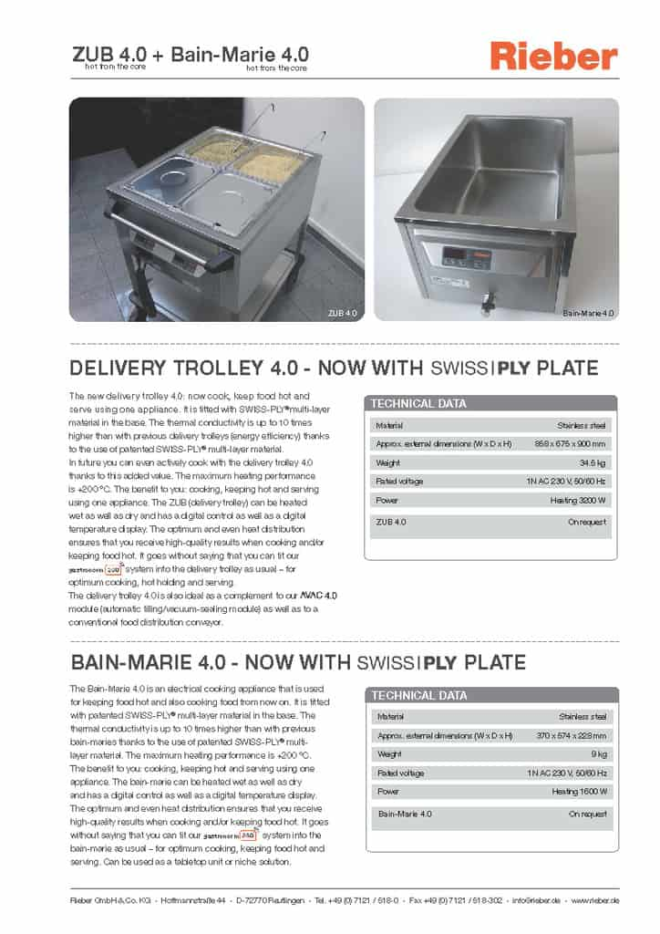Delivery Trolley 4.0