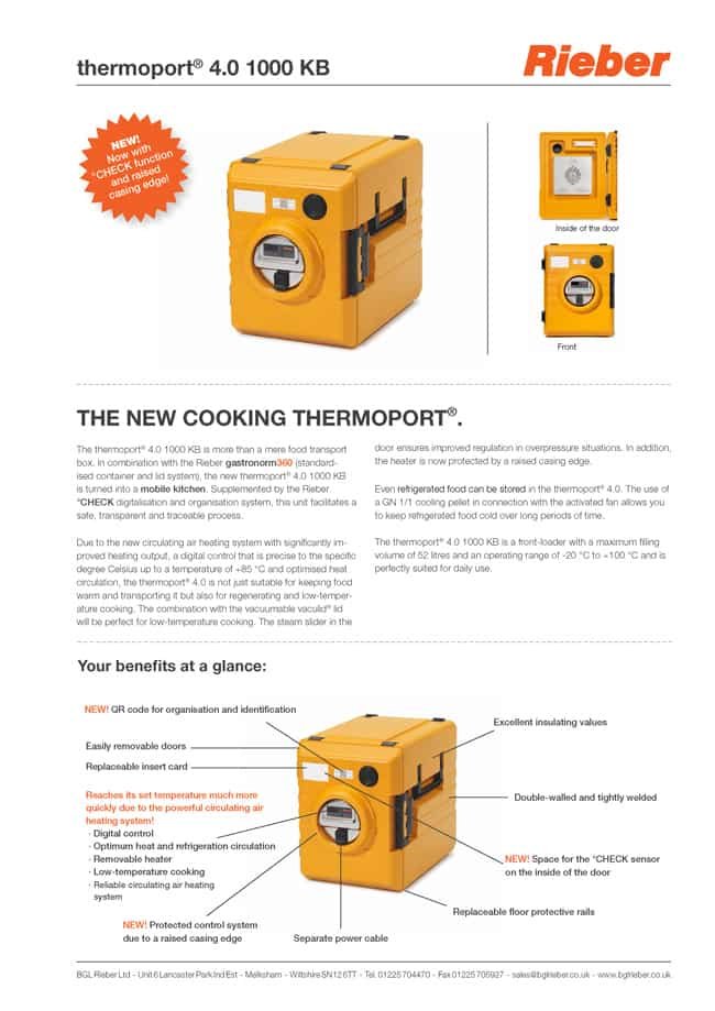 Thermoport 4.0 1000 KB