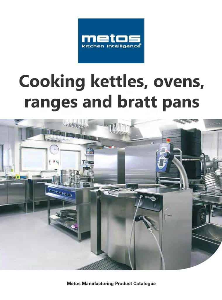 All Metos Kettles, Ovens, Ranges and Bratt Pans