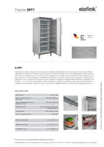 Freezer MP7 Lockable Multi-drawer