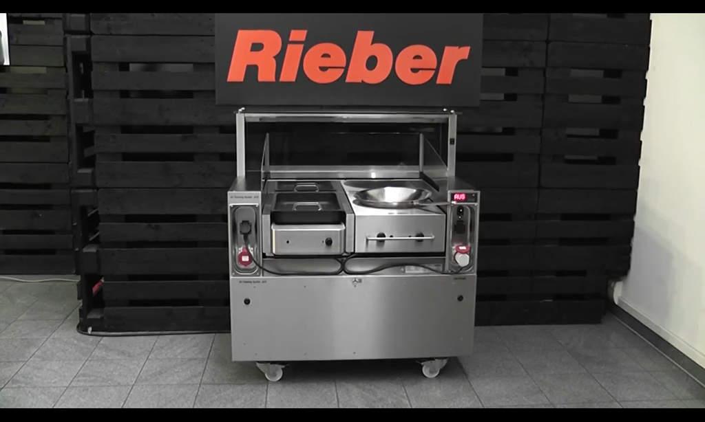 Front Cooking Video Acs 1100 D3 Acs 1500 D3 Bgl Rieber