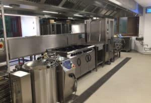 Bolton School kitchen crop