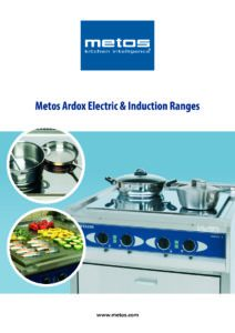 Metos Ardox Electric & Induction Ranges