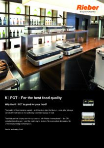 K-Pot - For the best food quality