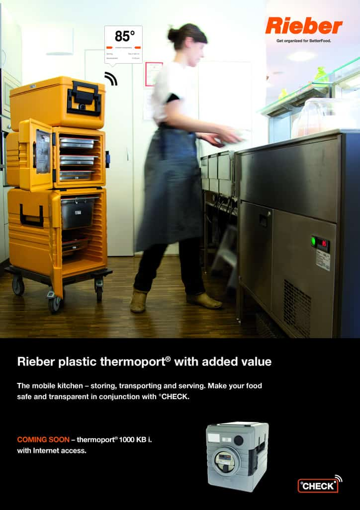 Rieber plastic thermoport® with added value