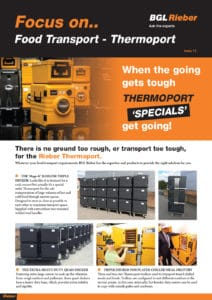 Thermoport 'Specials'