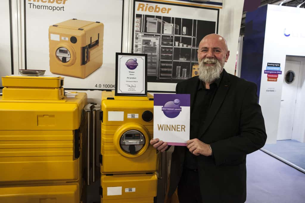 Thermoport Midi-K, by Rieber, winner of Great Hospitality Show Product Awards 2017