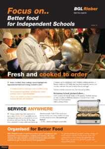 Better food for Independent Schools
