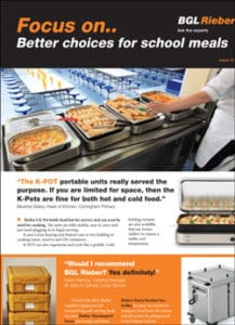 School Meals Newsletter
