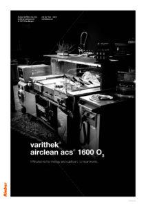 Varithek® airclean acs® 1600 O3 2019