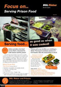 Serving prison food