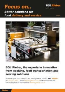 Better solutions for food delivery and service