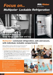 Multipolar ® Lockable Refrigeration