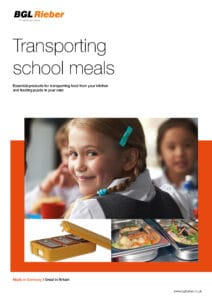 - NEW - Transporting school meals, with Thermoport 50