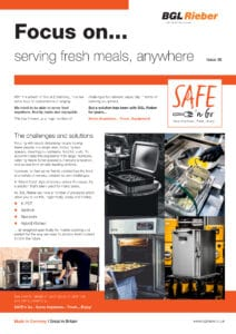 Serving fresh meals, anywhere