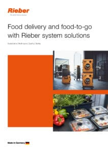 Food delivery and food-to-go with Rieber system solutions