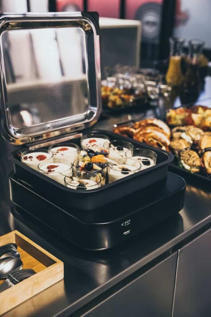 k-pot, food display, rieber